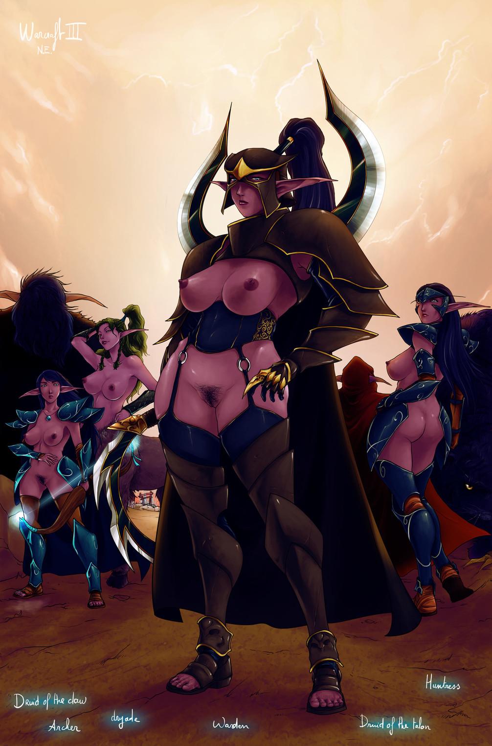 world of warcraft nude night elf Kill la kill mako naked