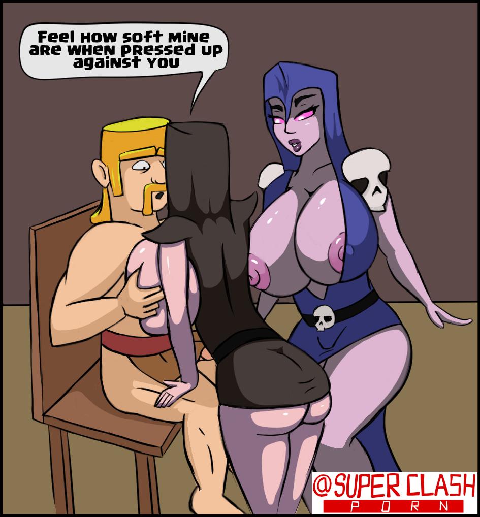 naked clans clash of healer Maku_(l-u)