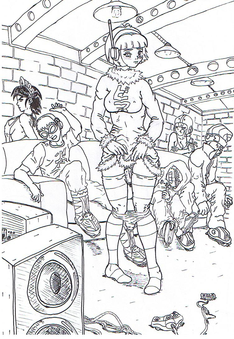 set jet radio Hiccup turns into a female dragon fanfiction
