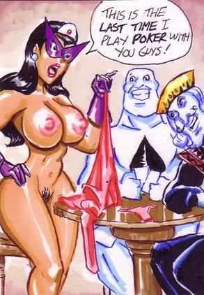 gang flush dc comics royal Calamity jane fate grand order