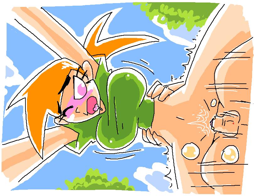 poof fairy from odd parents Hitozumaman!! ~haranda kunoichi tsumamigoro~