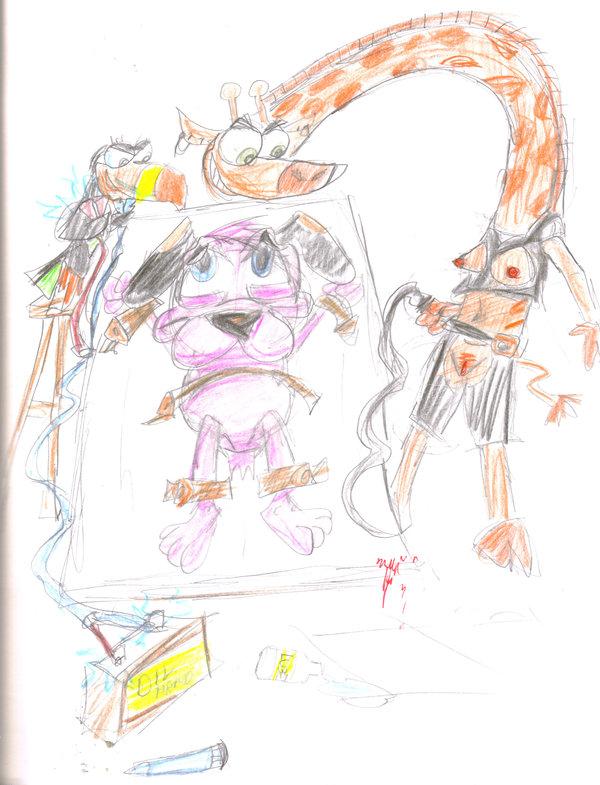 gym monkey network my cartoon partner's a Red dead redemption 2