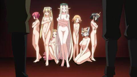 kuroinu: somaru. hakudaku ni seijo kedakaki wa Seven deadly sins anime merlin