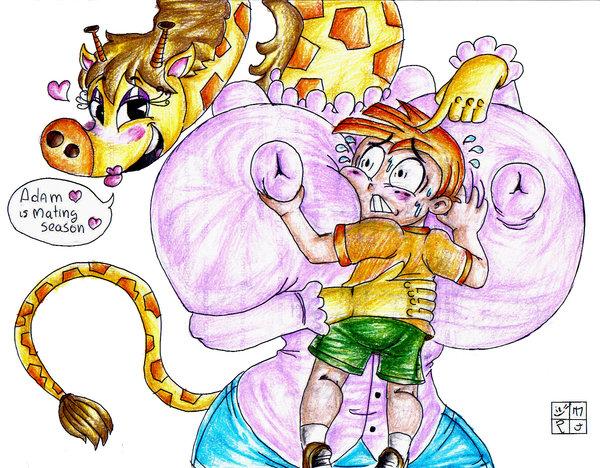 monkey my partners gym a Miss kobayashi's dragon maid torrent