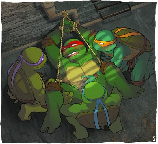 angel ninja turtles teenage mutant Isekai wa smartphone