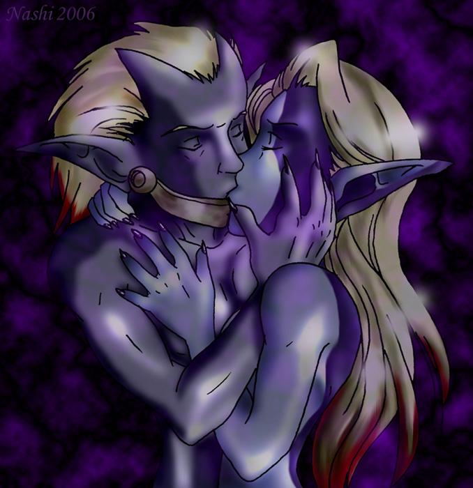 and starfire kiss raven fanfiction Akai riot - princess peach