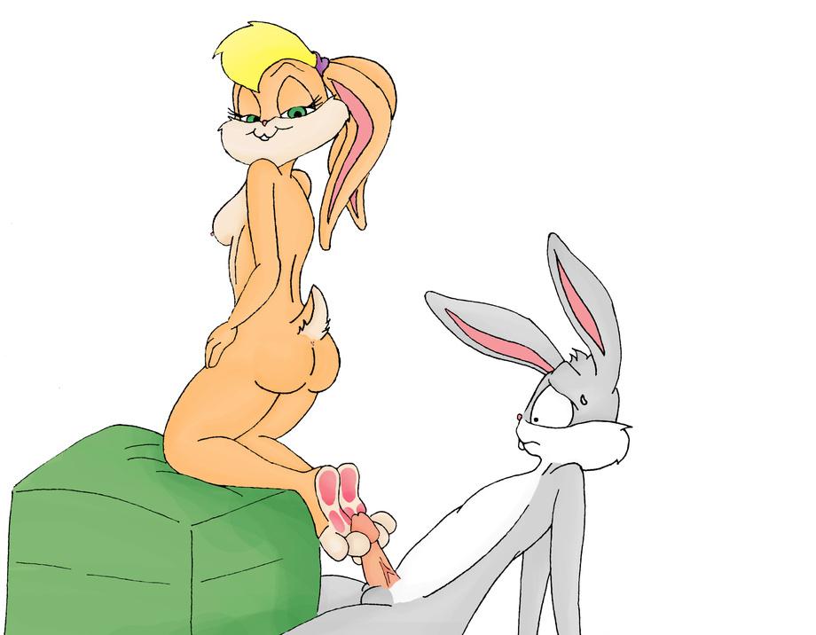 bunny and lola Female_on_anthro