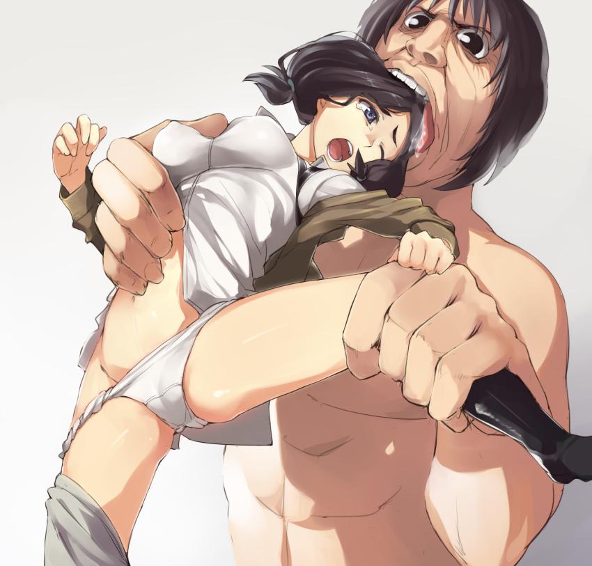 attack marvel vs titan on Maid-san to boin damashii the animation