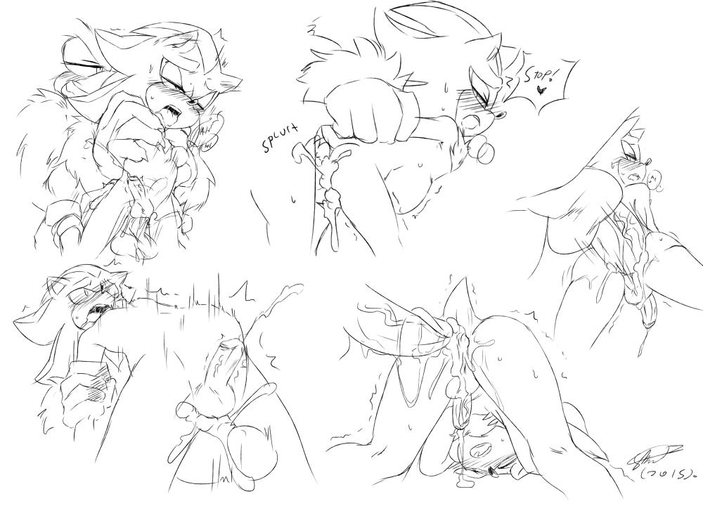shadow and the sonic werehog Hunter x hunter machi and hisoka