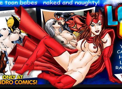 porn black scarlet and witch widow Girls line up for anal