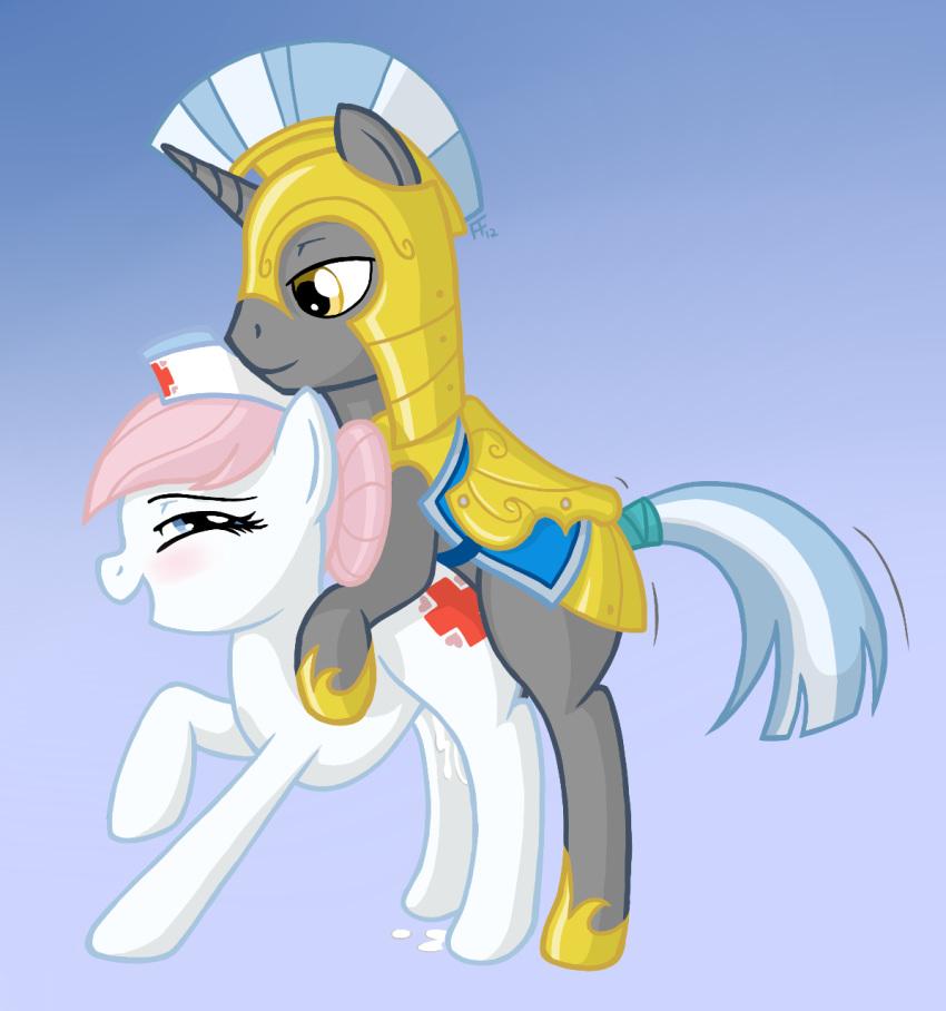 pony my little fancy pants Darling in the franxx 01