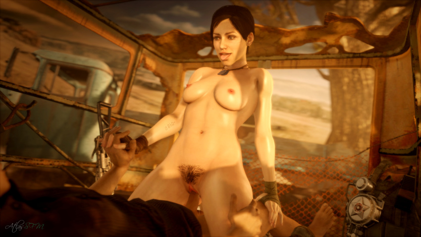 metro nude anna last light Rick and morty brain parasites
