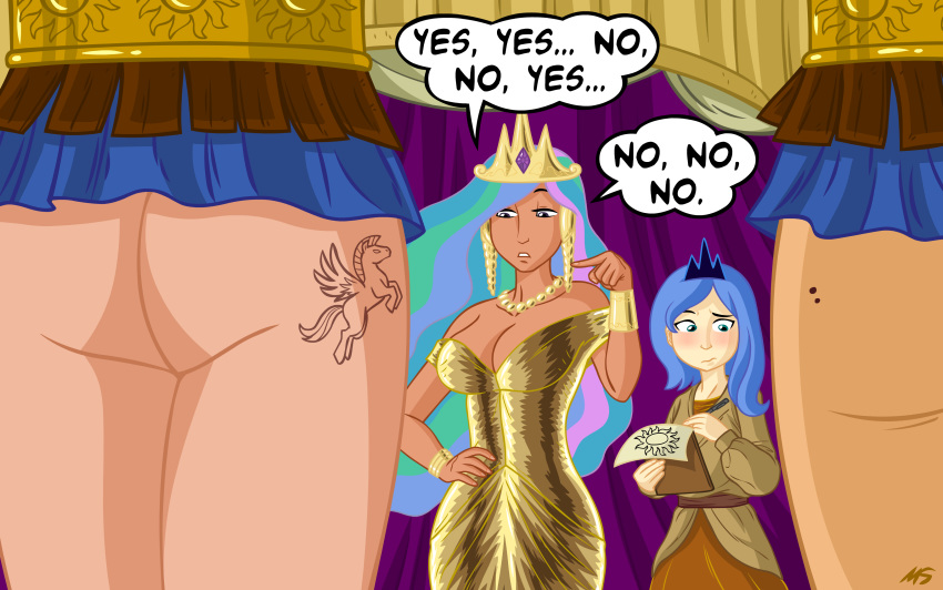 luna princesa little pony my Artoria pendragon (archer)