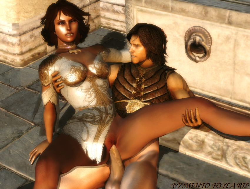 prince warrior dahaka within persia of Saints row 3 decker specialist