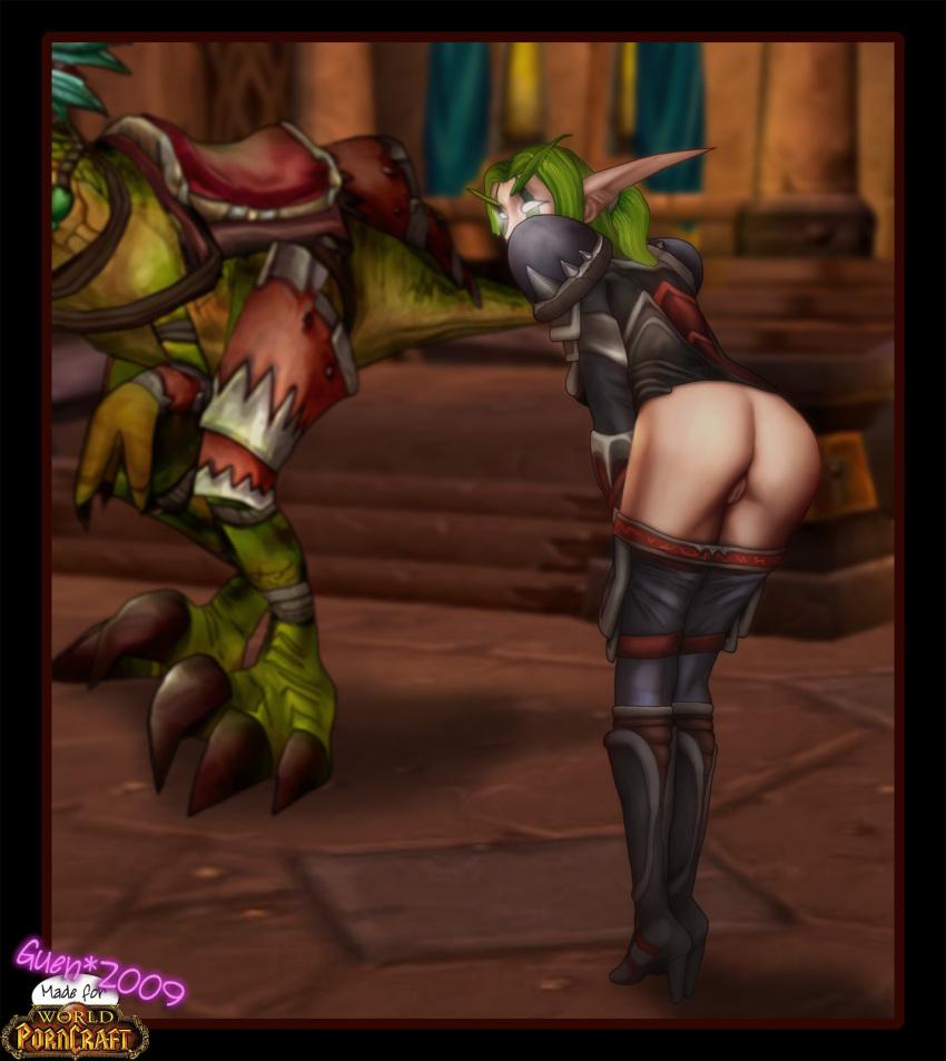 world nude night of elf warcraft Furry female tf henti comic