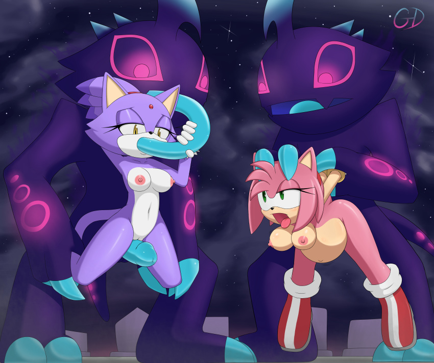 the amy and blaze rose cat Silent hill shattered memories cybil