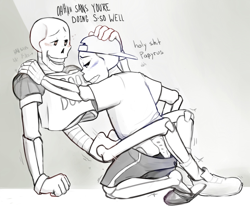x papyrus sans 18  Toy chica x toy freddy