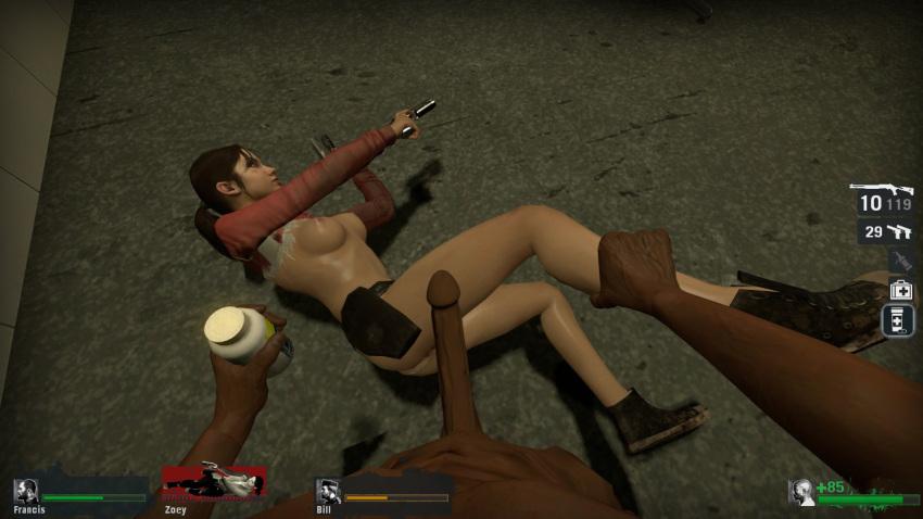 left dead 4 zoey from Sword art online sinon