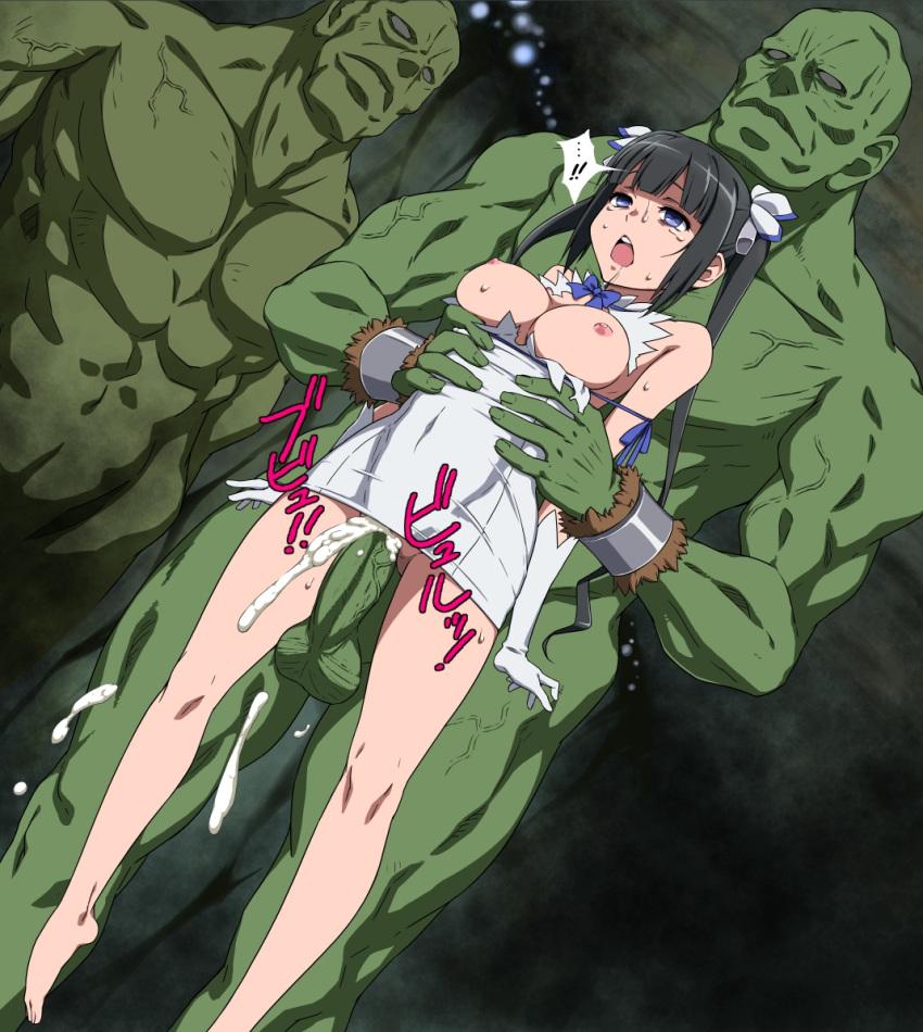 ni dungeon wo no no machigatteiru deai wa ka motomeru darou If adventure time was an anime