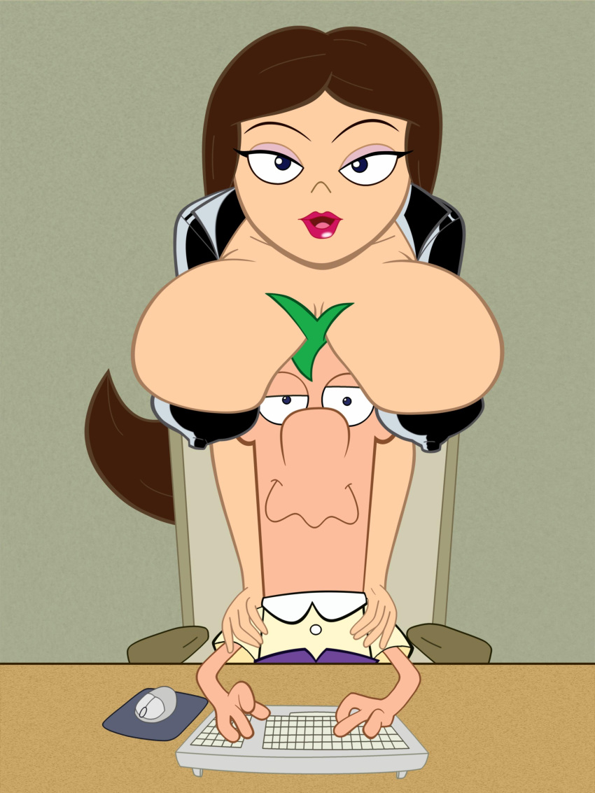 ferb phineas vanessa and naked Ben 10: a day with gwen