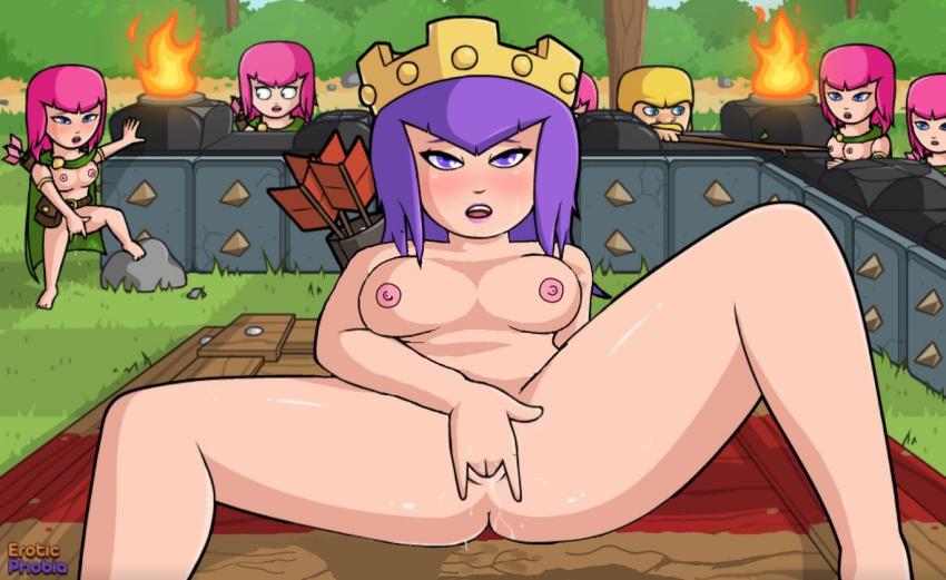clash porn of valkyrie clans Machine-doll wa kizutsukana