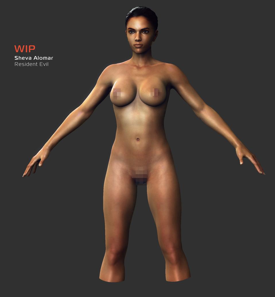 nude evil resident remaster hd mod Amazing world of gumball tina