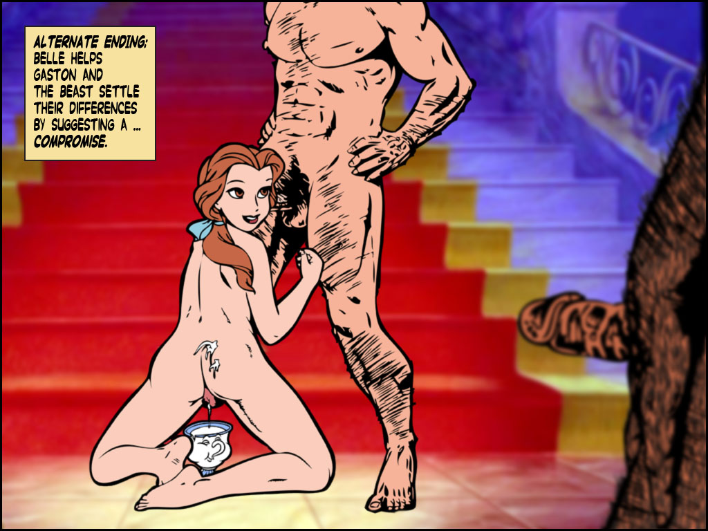 beauty and the nude belle beast Camp camp david and daniel
